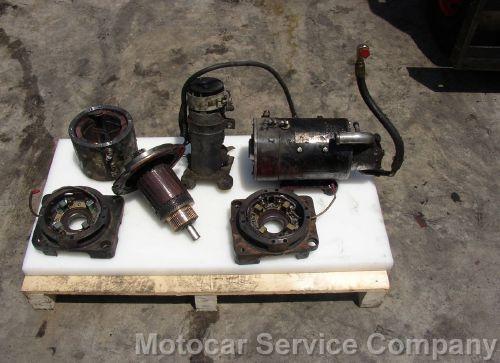 DC motor repairing.