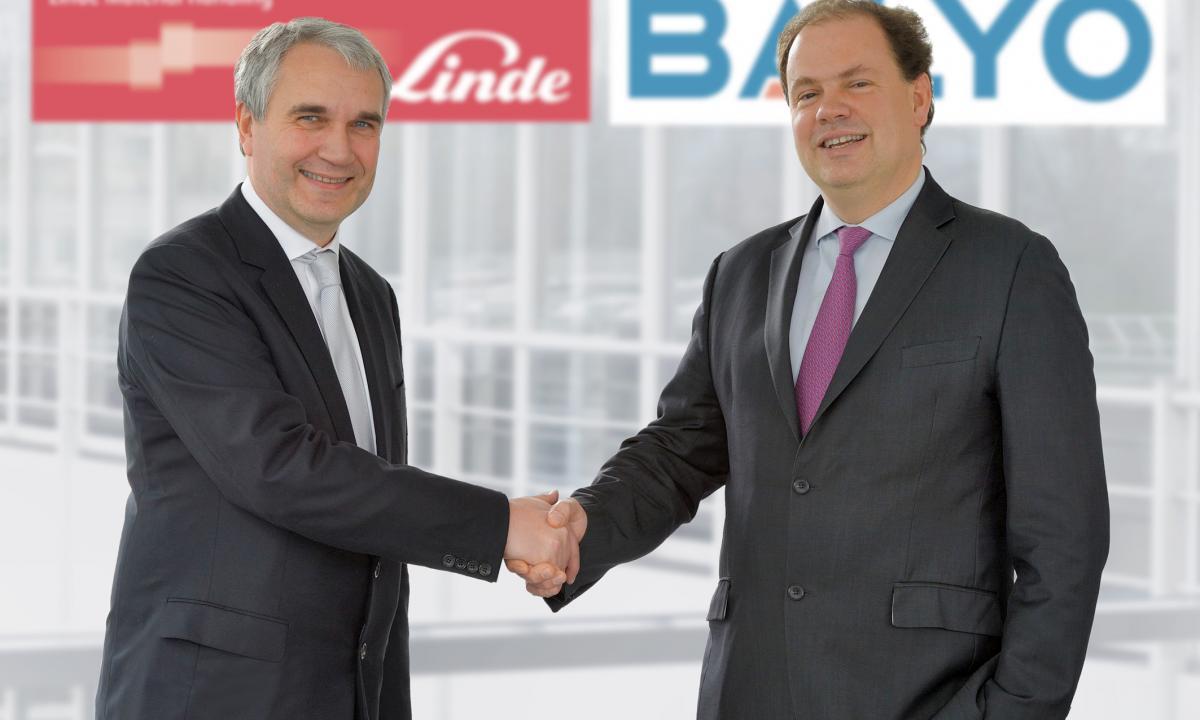 Linde Material Handling и Balyo подписаха споразумение