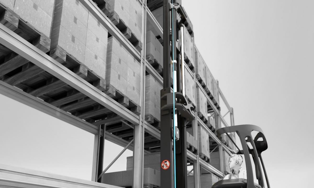 Linde Dynamic Mast Control