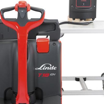 машини Linde с литиево-йонни батерии