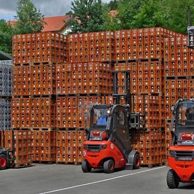 Мотокар Сервиз – ексклузивен доставчик на мотокари Linde за Кока Кола в България