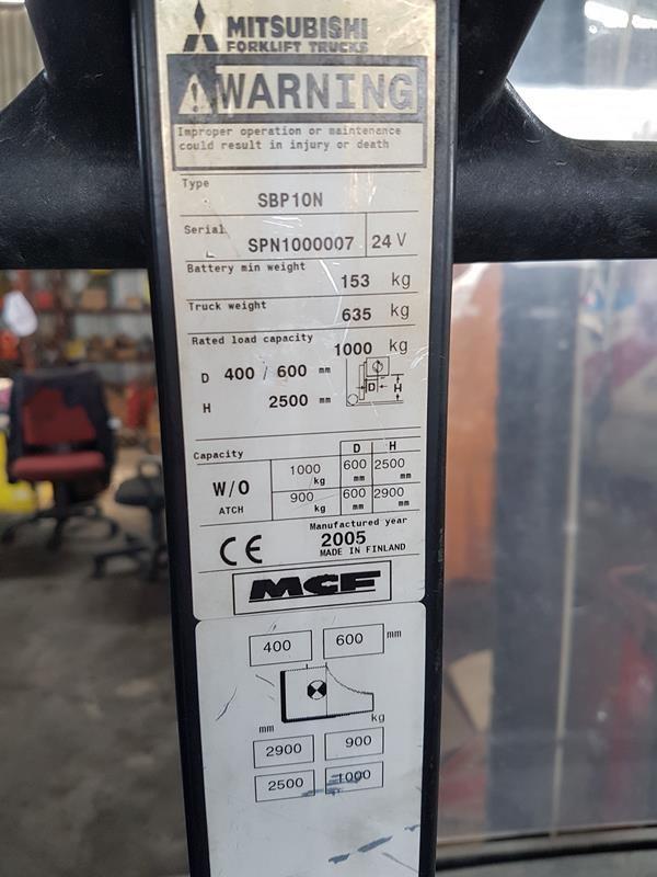 Mitsubishi SBP 10N Standart цена € 2,200.00 170497661