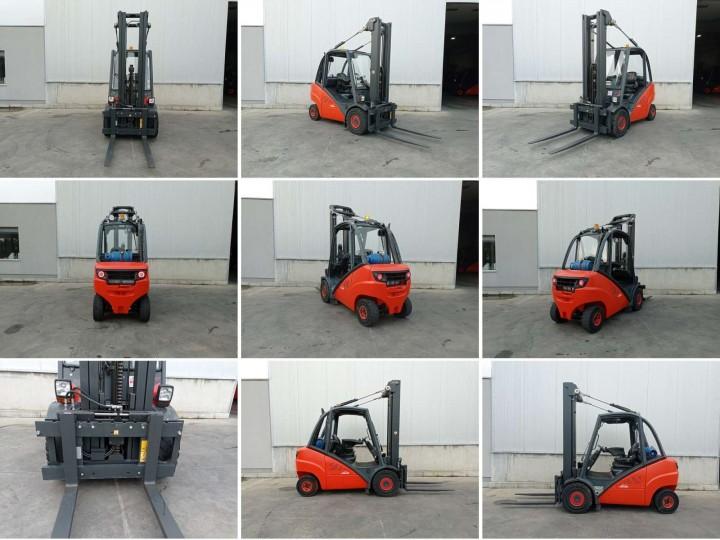 Linde H30T Triplex цена €  - 1617411760