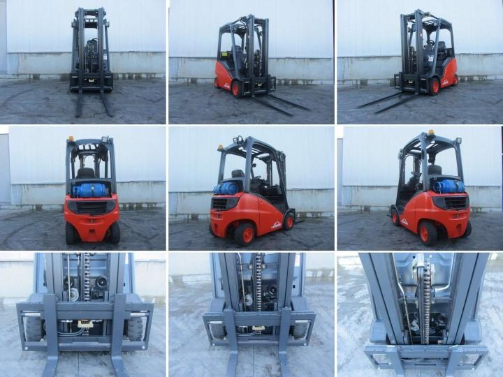 Linde H16T Triplex цена € 10,124.00 - 2045524