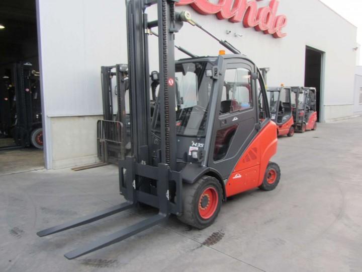 Газокар Linde H35T Standart цена € 17,800.00 718989228