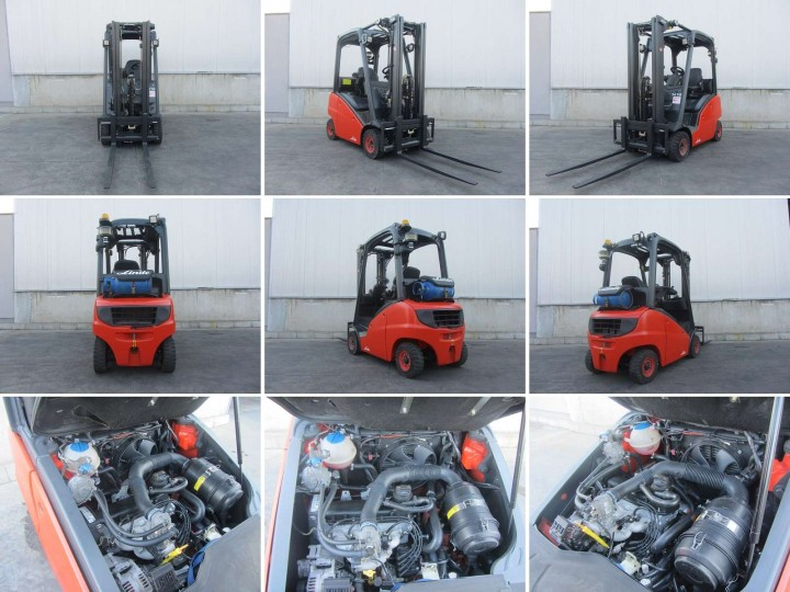 Linde H16T Triplex цена €  - 1544795541