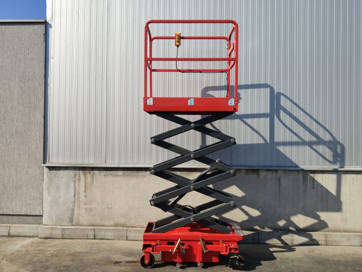 Ножична работна платформа (вишка)  Crane за повдигане на хора  цена €  - 540612700