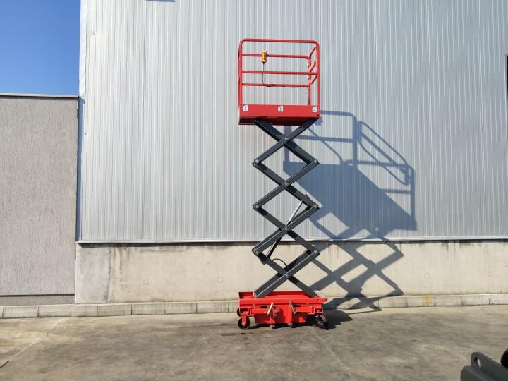 Ножична работна платформа (вишка)  Crane за повдигане на хора  цена €  - 1643059456