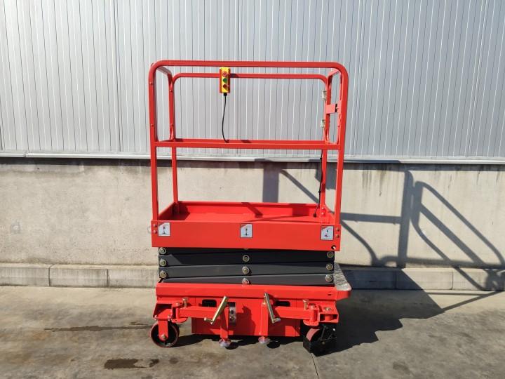 Ножична работна платформа (вишка)  Crane за повдигане на хора  цена €  - 116944023