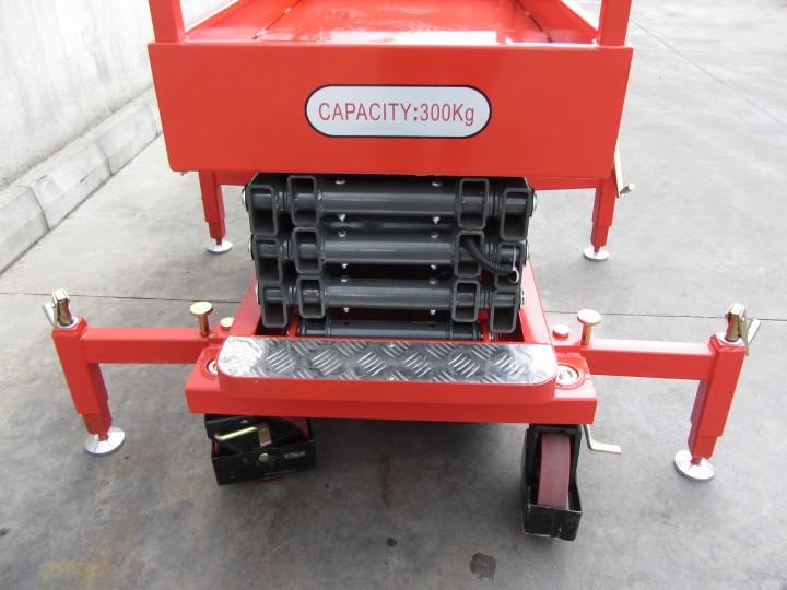 Ножична работна платформа (вишка)  Crane за повдигане на хора  цена €  - 419600069