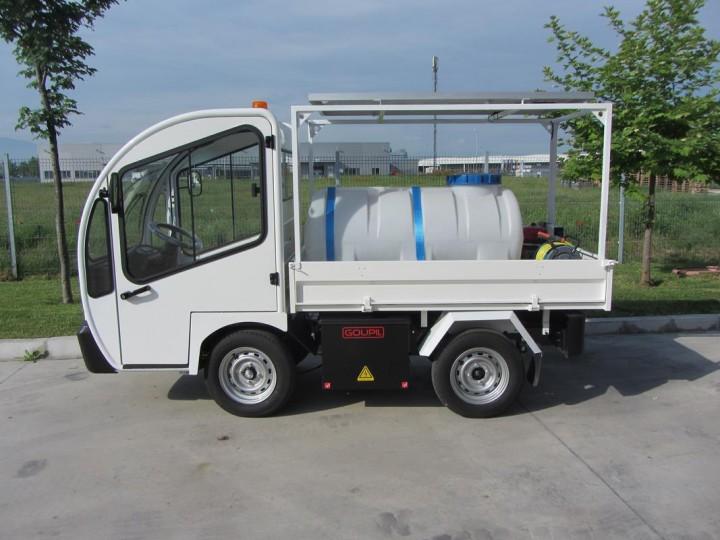 Електро камион Goupil за поливане  цена € 11,500.00 - 153424581