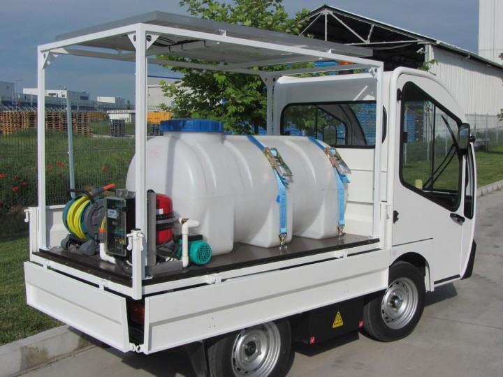 Електро камион Goupil за поливане  цена € 11,500.00 1086474445