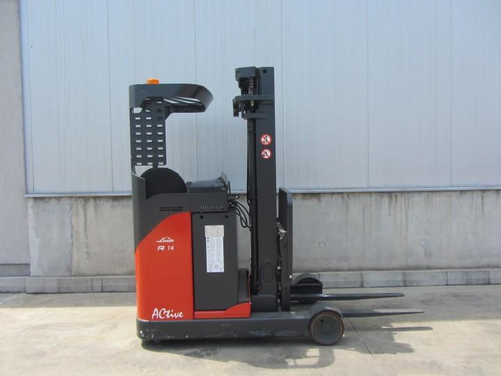 Linde R14N Triplex цена € 15,000.00 - 874756618