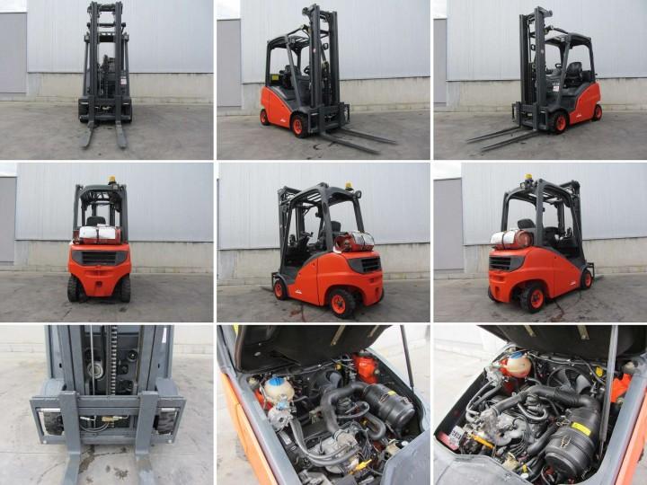 Linde H18T Triplex цена €  - 502377109