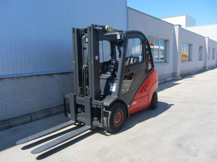 Linde H35T Triplex цена € 19,900.00 - 1396370958